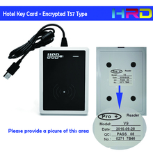 Encrypted Keycard can be used directly by hotels vingcard adel ygs invlock hotel lock management system key cards(China)