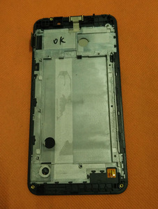 Image 2 - 사용 된 원래 LCD 디스플레이 + 디지타이저 터치 스크린 + 프레임 Ulefone 금속 5 인치 HD MTK6753 Octa 코어 무료 배송
