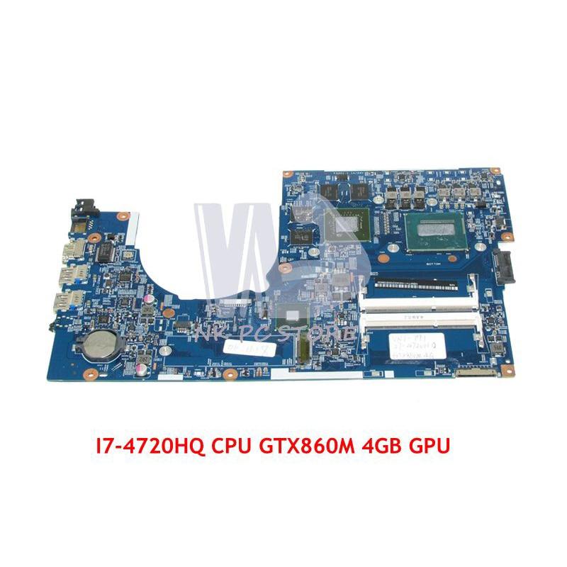 NOKOTION NBMTH11003 448.02G08.001M Laptop motherboard Para Acer aspire GTX860M I7-4720HQ VN7-791 PLACA PRINCIPAL CPU 4 GB