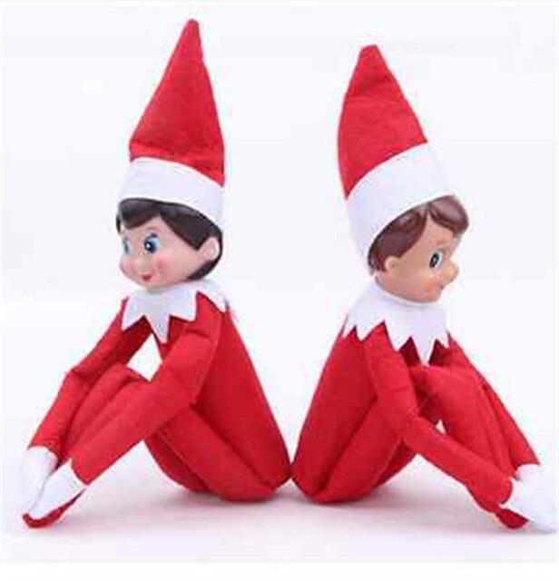 Elf On The Shelf Plush Dolls Girl Boy Figure Christmas Novelty