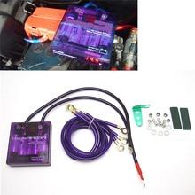 Purple-PIVOT-MEGA-RAIZIN-Universal-Car-Fuel-Saver-Voltage-Stabilizer-Regulator
