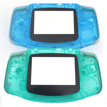 10PCS For Gameboy Advance for Nintendo Plastic Shell Case Housing Screen For GBA Luminous case Cover