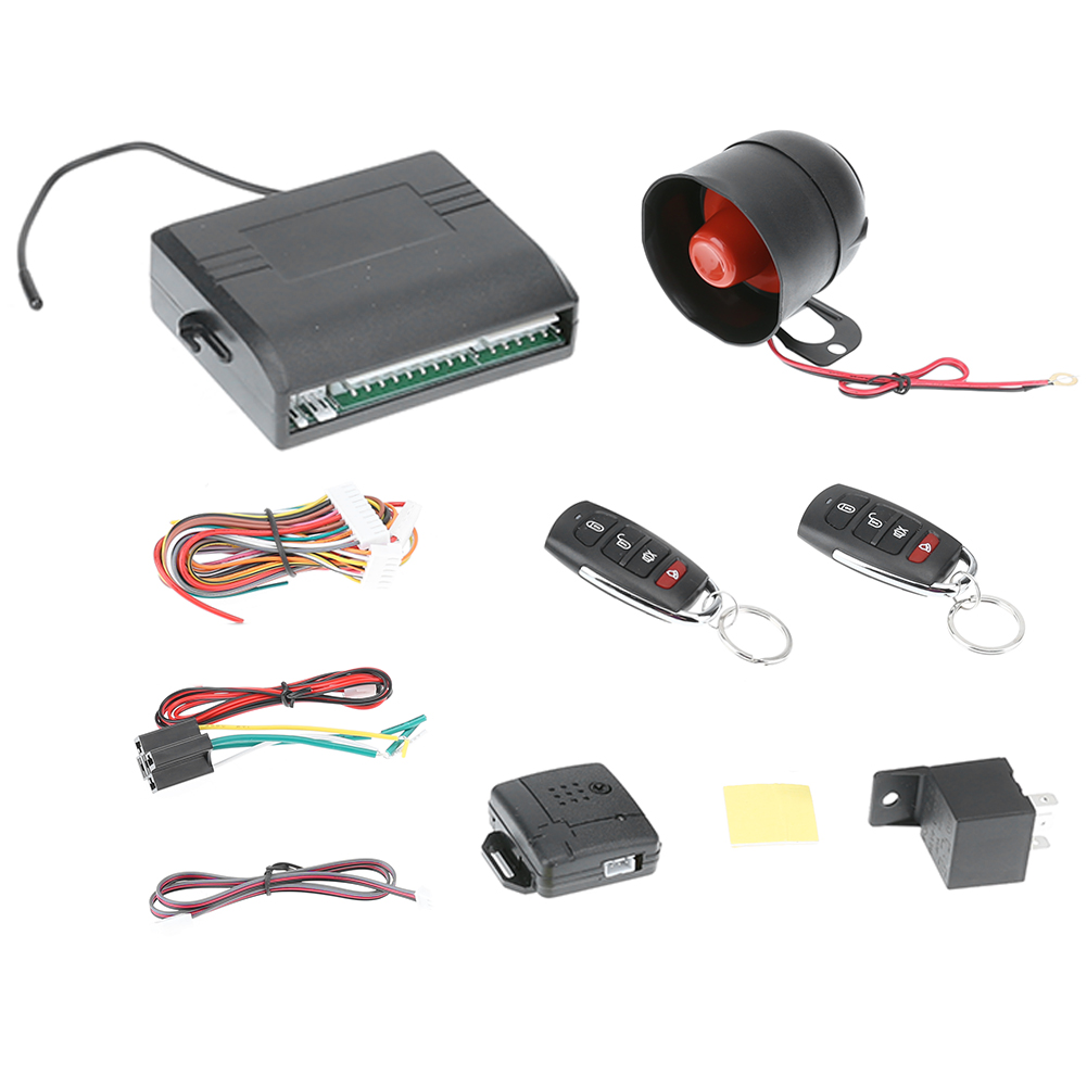 Universal Car alarm system Auto Door Remote Central Control Lock Locking Keyless Entry System with Alarm