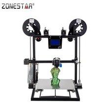 2017 новые zonestar алюминиевая рама большой Размеры быстрая сборка pre-Собраны авто уровень лазерная гравировка закончились decect 3D принтер