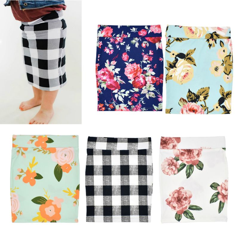 Toddler Baby Kids Girl Printing Pencil Skirts Summer Skirt Child Baby Girls Clothing 0 3y