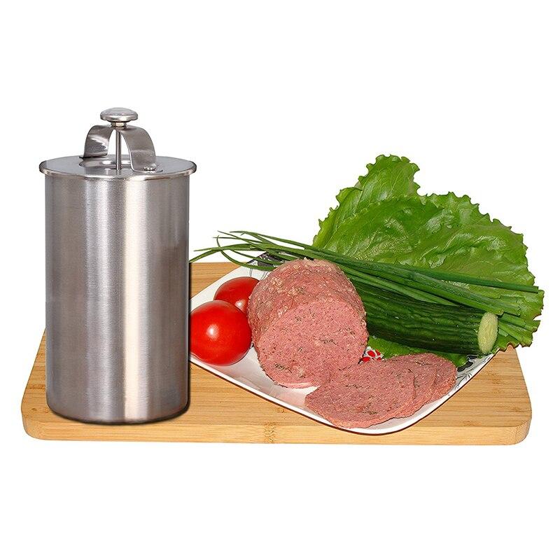 Edelstahl Schinken Maker/Schinken Fleisch Walzmaschine Mit ein Thermometer Schinken Kessel Fleisch Topf Pan Druck Schinken Herd