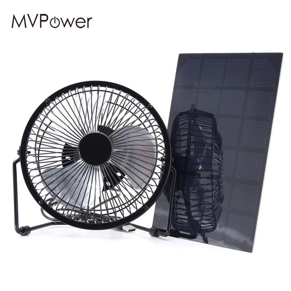 Panneau solaire 6 V avec ventilateurs de 8 pouces panneau solaire multifonctionnel extérieur panneau solaire Smartphone énergie Flexible panneau solaire 5.2 W 6 V