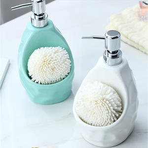 Liquid-Soap-Dispenser Bathroom-Accessories Ceramic Kitchen Home-Decoration for ABS ABS
