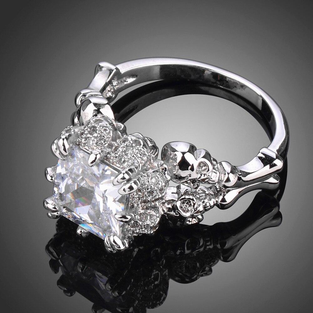 popular skull wedding ring women-buy cheap skull wedding ring