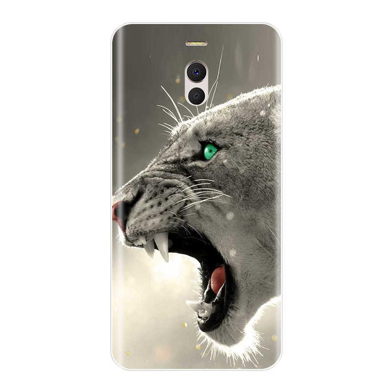 Telefon Fall Für Meizu M6 M6S M5C M5 M5S M3S M3 M2 Weiche Silikon TPU Nette Katze Painted Back Cover für Meizu M6 M5 M3 M2 Hinweis Fall