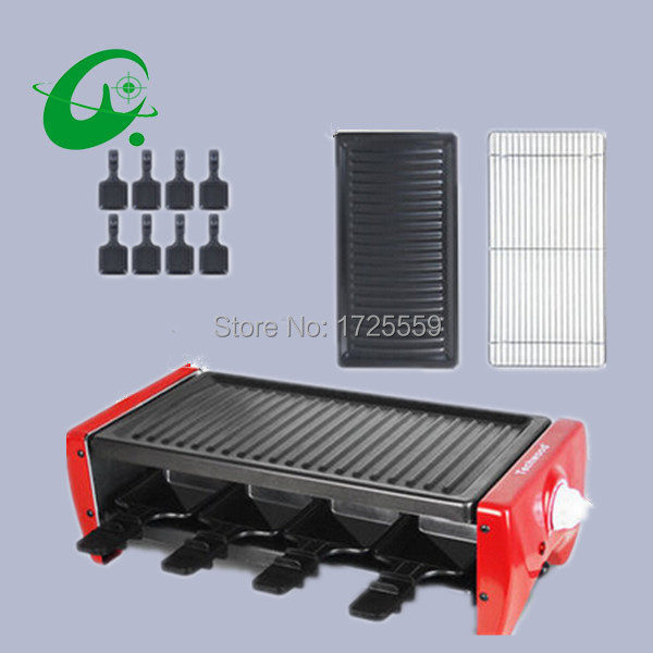 3-8Persons electric barbecue grill, No Somker Electric grill Small electric BBQ grill mastering barbecue