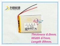 Melhor marca da bateria 606789 4500 mA bateria de lítio recarregável 3.7 V Po plano de substituição da bateria 656790|battery flat|3.7v 4500|battery rechargeable -