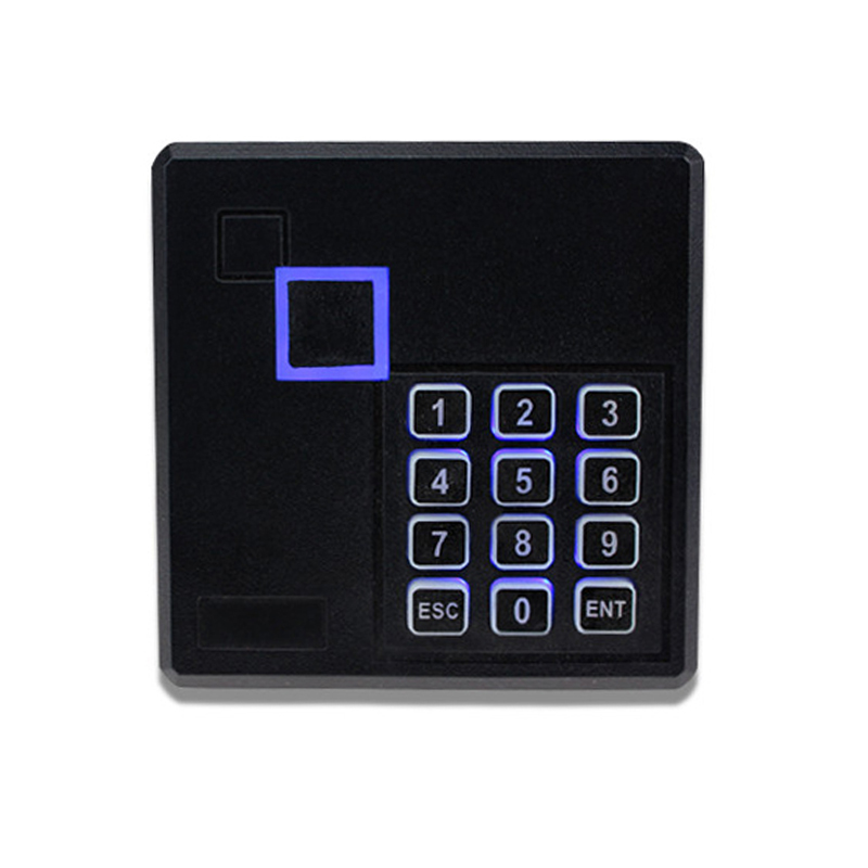 IP65 Waterproof 125KHz/13.56MHz ISO14443A RFID MF Classic 1K Card Reader Smart Contactless Reader With Keypad Free shipping avansia duplex expert mag iso smart & contactless