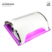 NOQ Professional Nail Lamp UV Lamp Led Vacuum Cleaner For Nails 54W Nail Dryer Nail Dust Collector For Drill Salon Machine