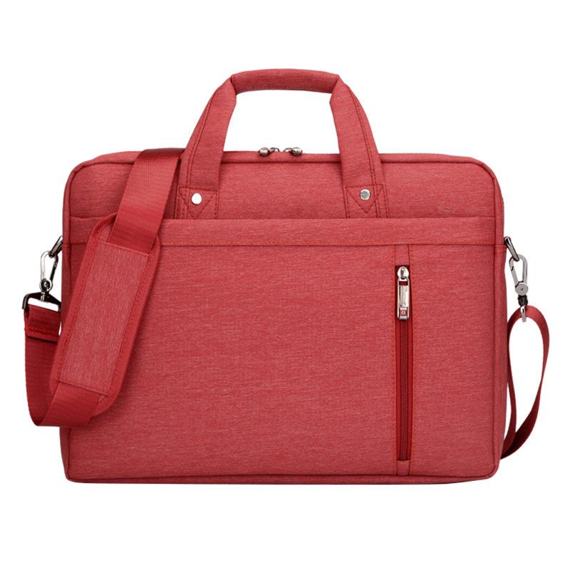 15 Inch big size For Nylon Computer Laptop Solid Notebook Tablet Bag Bags Case Messenger Shoulder unisex men women Durable Red