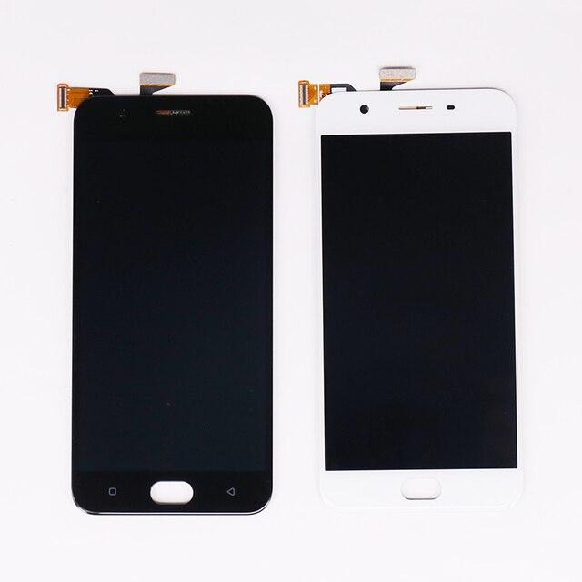 Экран для OPPO A57 ЖК-дисплей Дисплей с сенсорным экраном дигитайзер сборки ЖК-дисплей Дисплей для Oppo A57 Экран Замена Бесплатная доставка