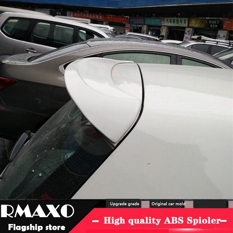 For Volkswagen GOLF 6 Spoiler 2011-2013 Mk6 High Quality  ABS Material Car Rear Wing Primer Color Rear Spoiler