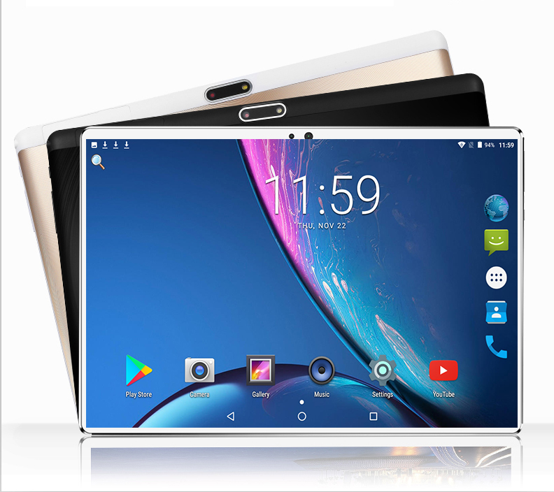 Tablet Sim-Card Phone-Call Android Octa-Core 10inch 4GB-RAM New 1280x800 PC Dual 128GB