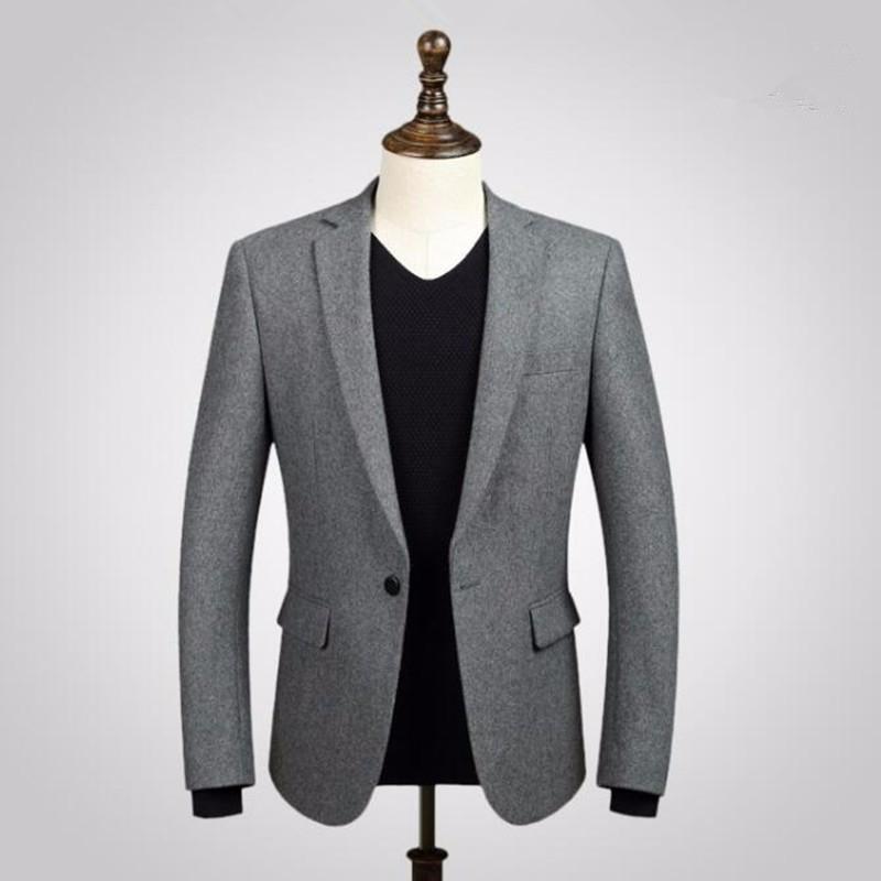 5.1Black men suits jacket wool blended formal business suits jacket custom made wedding prom dress suits jacket