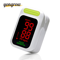 Yongrow Oximeter LED Pulse Oximeter Oximetro De Dedo Pulsioximetro Green Color