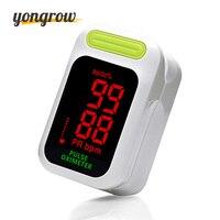 Yongrow Oximeter LED Pulse Oximeter Oximetro De Dedo Pulsioximetro Green Color