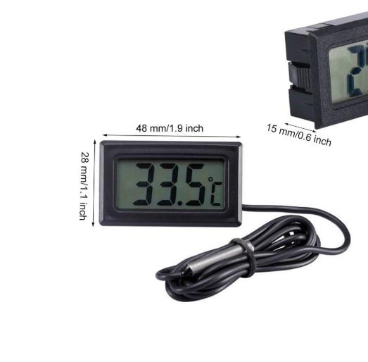 New car internal thermometer tool digital liquid crystal display thermometer NTC temperature sensor water temperature meter auto