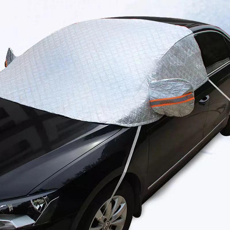 YIKA автомобильный зонт из алюминиевой фольги Снежный чехол половинный чехол для кузова отражающая фольга лобовое стекло снег блокируется а