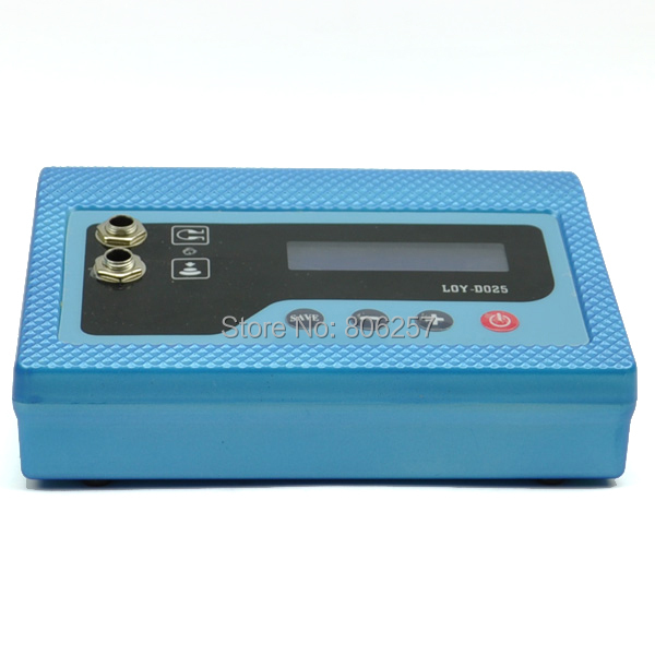 Digital Tattoo Power Supply tattoo Machine Blue Casting LCD Digital Tattoo Power Supply Machine US Plug