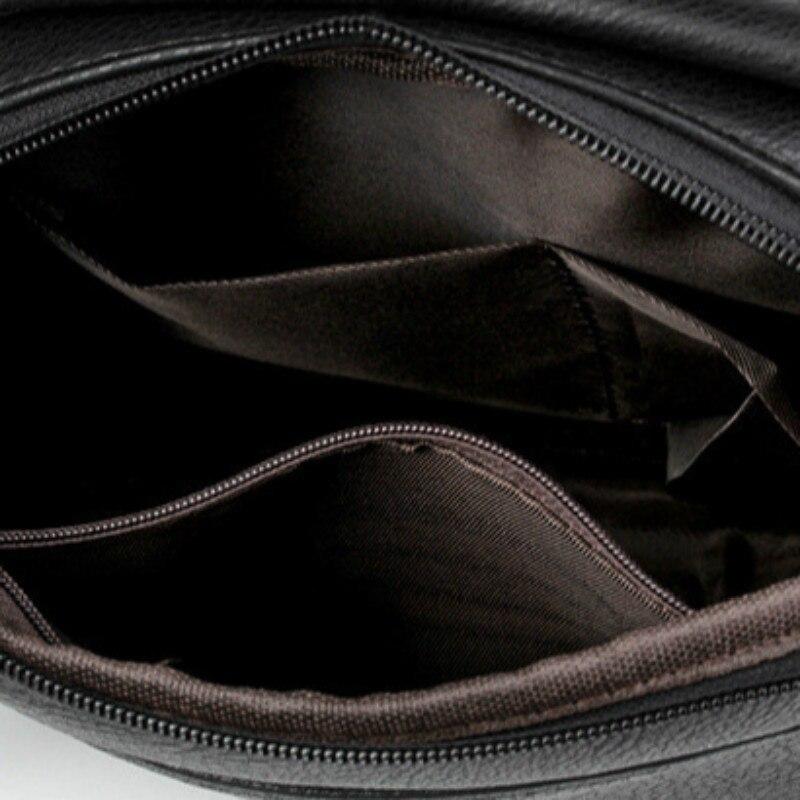 New luxury Famous Brand Men Shoulder Bags Pu Leather Men Bag Business Messenger Bags Man Small Crossbody Bag Classic Retro