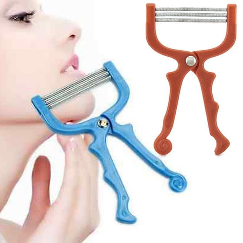 Women Summer Facial Epilator  Roller Face Hair  Pull Facial Depilation Shaving Makeup Th ...