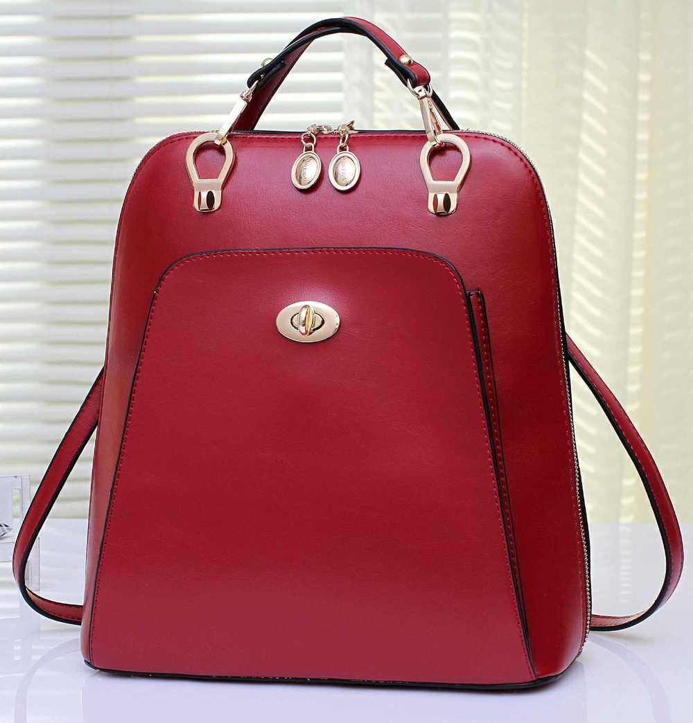 Aliexpress.com : Buy 2015 fashion Woman Backpack Leather Small ...