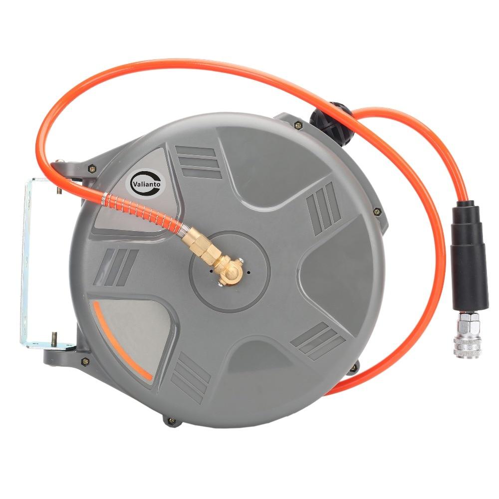 cheap high quality hd610 65x10 mm 1m retractable air hose reel air blower - Retractable Hose Reel