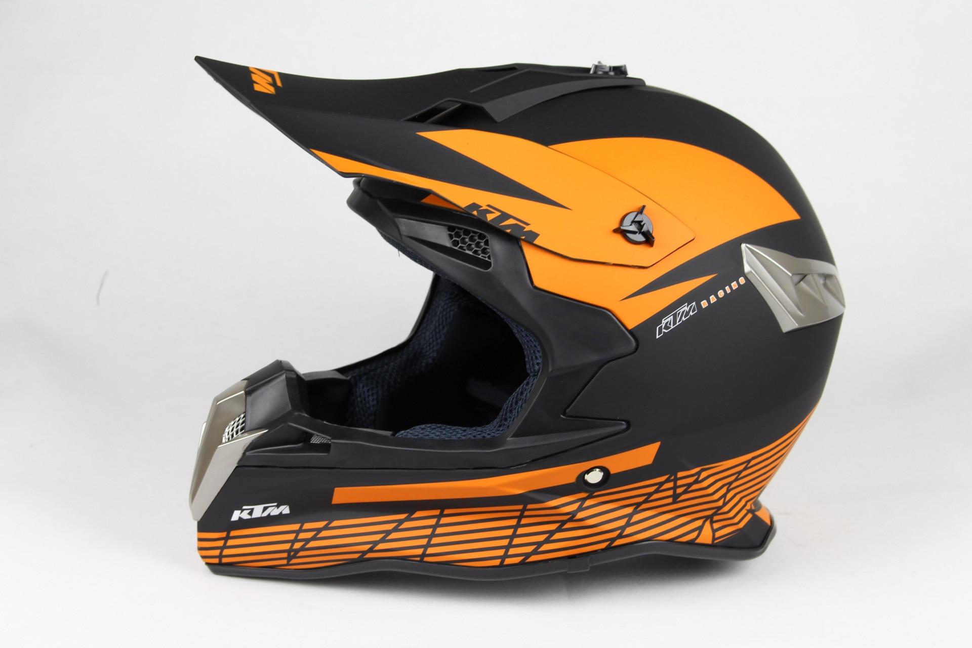 new helmets motocross ktm motorcycle helmet off road moto racing atv helmets ktm orange dot can