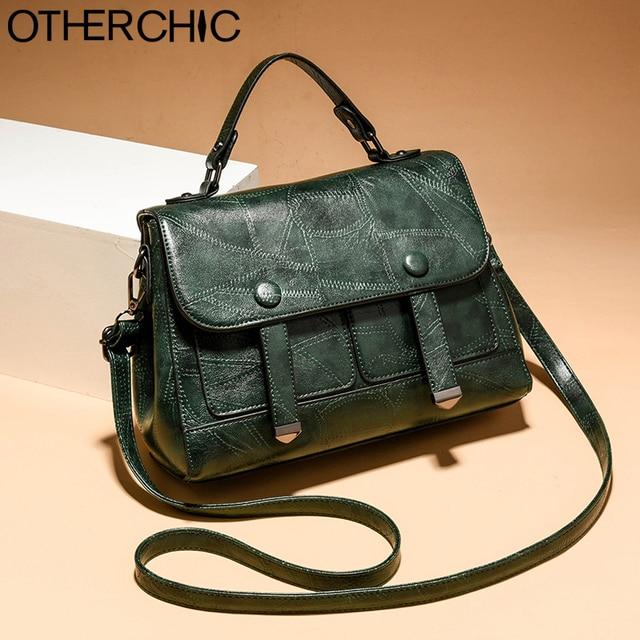 4839373a3a87 OTHERCHIC Fashion Women Satchel Bags Black Tote Handbags Women Brown  Messenger Bag Casual Crossbody Bag Shoulder