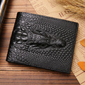 Crocodile Printing Mens Wallets Genuine Leather Fashion Alligator Man Wallet High Quality Real Leather Men Wallet