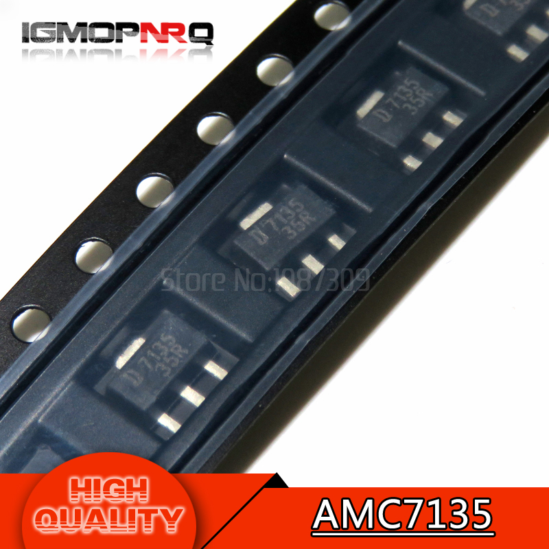 2.7-6v Led Driver P New Original To Be Renowned Both At Home And Abroad For Exquisite Workmanship Romantic Free Shipping 20pcs/lot Amc7135pkft L7135 Amc7135 Sot89 Constant 350ma Skillful Knitting And Elegant Design