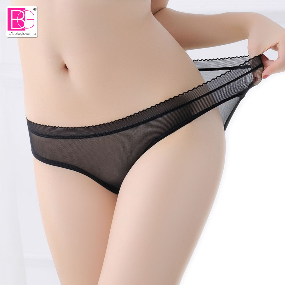 L'bellagiovanna underwear Women Lace   panties   Female ultra thin under sexy Thongs   Panty   Girls active intimates XXS-XL 8 color1855