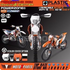 Image 5 - Powerzone Headlight Headlamp For KTM SX F EXC XCF SMR 2014 15 16 Motorcycle Dirt Bike MX Enduro Supermoto With H4 Bulb