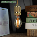C55 Edison bulb Incandescent lamp design retro filament Edison light bulb pendant light drop light  spiral