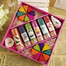 Gift Packing Thailand Incense Aromatic Sticks Home Scent Aromatherapy Air Fresh Soothe The Nerves Sleep Aids