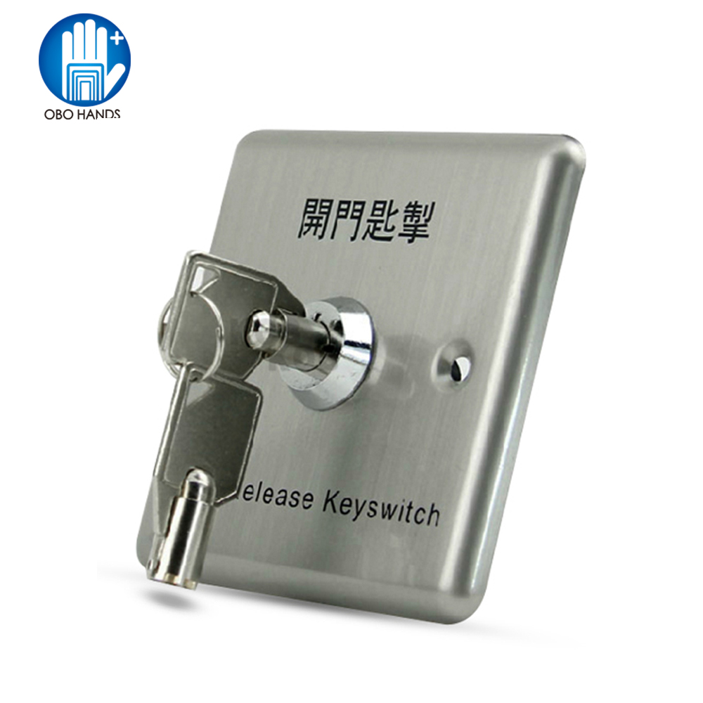 Access Control Access Control Kits Lpsecurity Door Button With Keys Metal Exit Switch Button Door Release For Gate Opener Electric Lock Access Control System 100% High Quality Materials