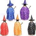 Накидки с шляпой для детей, костюмы на день рождения и Хэллоуин