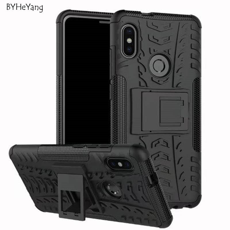 For Xiaomi Redmi Note 5 Case note5 global version TPU+PC Silicone Kickstand Cover Armor Case for Redmi Note 5 Pro Cover 5.99inch