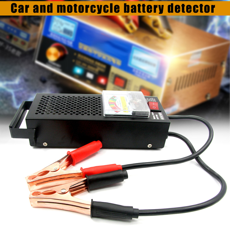New Battery Load Tester Charge Checker 6V 12V for Cars Farm Vehicles Trucks CSL2018 125mm electric air horn 12v loud chrome color aluminum coil vehicles cars trucks motorcycles for kawasaki z750 for ford f 150