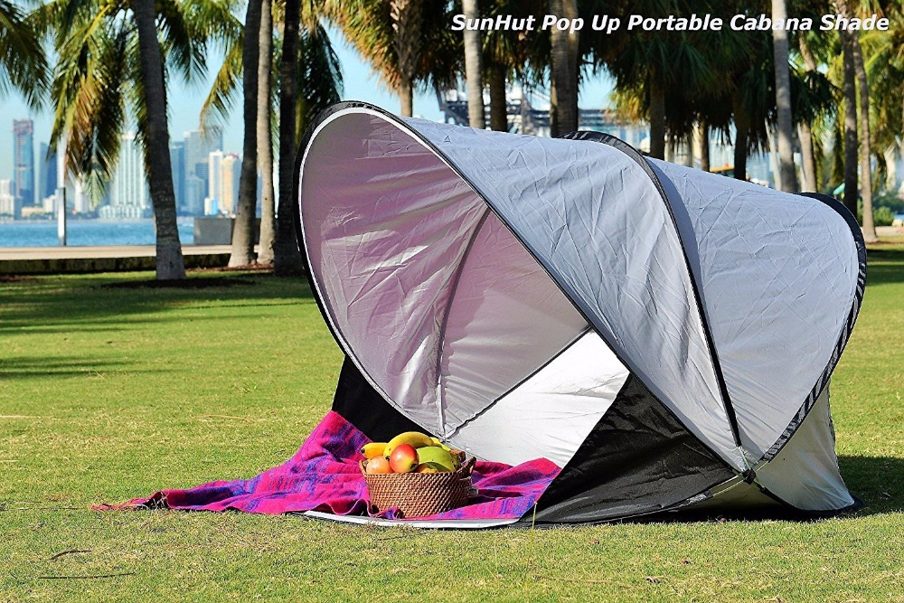 Pop Up Beach Shade and Sun Shelter White UV30 Sun Guard Protection Indoor Tent-in Sun Shelter from Sports u0026 Entertainment on Aliexpress.com | Alibaba Group & Pop Up Beach Shade and Sun Shelter White UV30 Sun Guard Protection ...