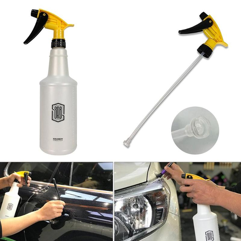 Hand Pressure Spray Bottle Corrosion Resistant Sprayer for Car Washing Gardening 750ml Large Capacity And Good Atomization(China)