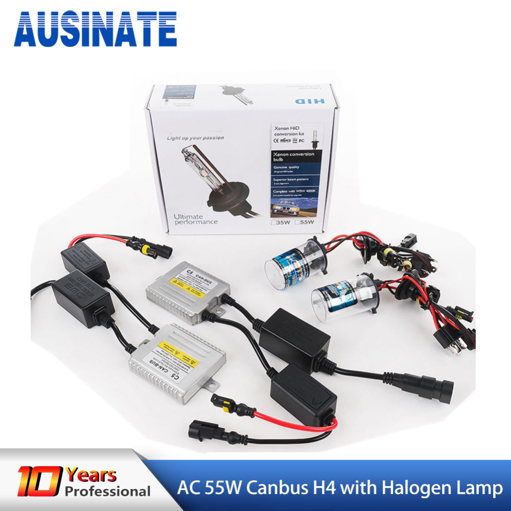 35W H7 8000K Slim Ballast HID Xenon Conversion Kit For CANBUS Audi Low Beam