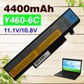 4400 mah bateria do portátil para lenovo ideapad y460a y460at y460c-ith y460n y460p y560 y560a y560p y560pt y450dt 57y6440 l09n6d16