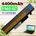 4400mAh Laptop Battery For Lenovo IdeaPad Y460A Y460AT Y460C-ITH Y460N Y460P Y560 Y560A Y450DT Y560P y560PT 57Y6440 L09N6D16
