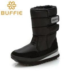 حذاء رجالي الشتاء الأحذية حذاء الصلبة الأسود الثلوج زائد حجم 36 إلى كبيرة 47 العلامة التجارية نمط الدافئة الذكور الجوارب شحن مجانا أفضل بيع